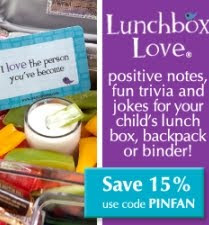 Lunchbox Love, Coupon Code, Say Please, Note Cards