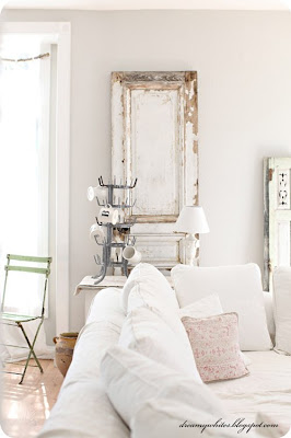 Decorating Ideas with old doors and windows