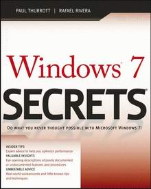 Cover of Windows 7 Secrets eBook