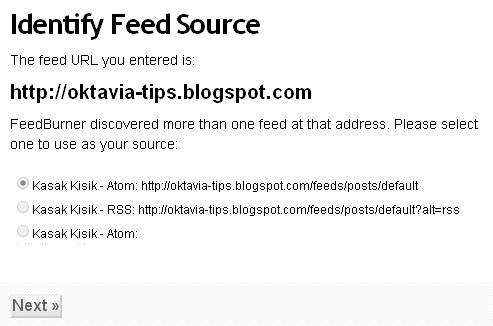 Daftar RSS Feedburner Dan Berlangganan Email Untuk Blog 2