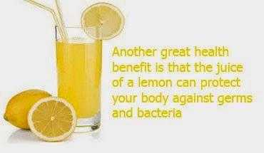 health benefits of lemon juice 2