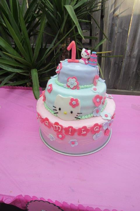 Cakes R Us Princess Camila 1st Birthday Hello Kitty