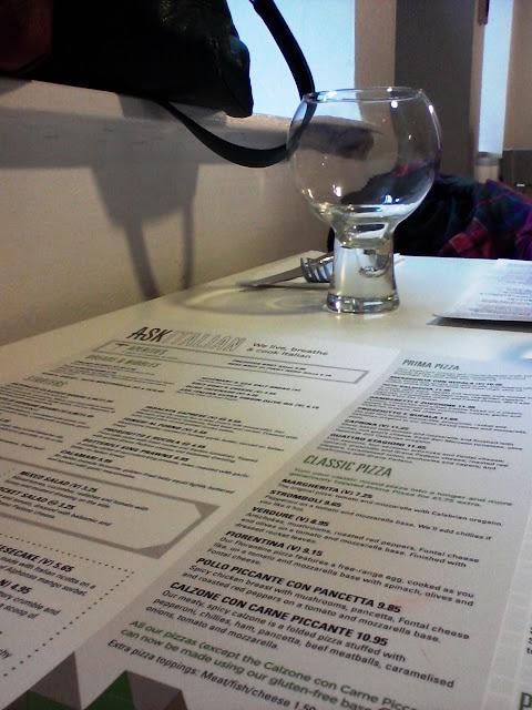 Ask menu
