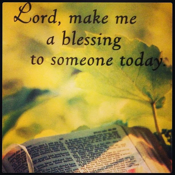 My prayer ...