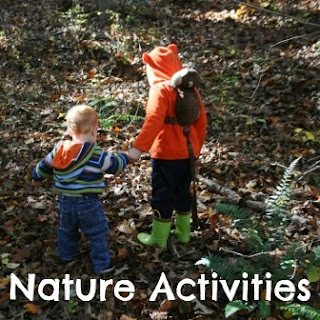 Using nature study to teach preschoolers about God