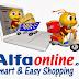 Alfaonline.com Toko Belanja Online Murah, Promo Heboh Jual Barang Hanya Rp. 1, -