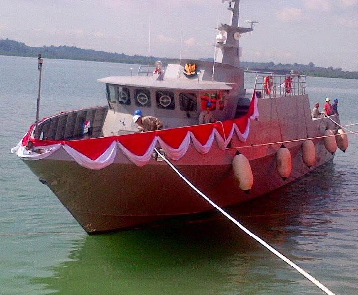 Kapal Patroli Cepat KPC PT AIU