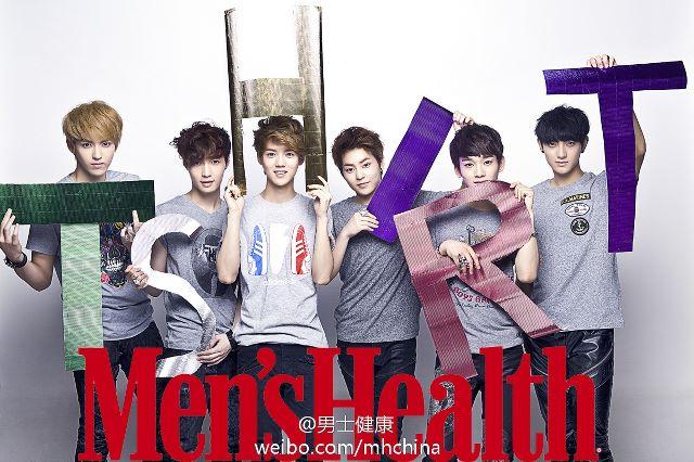 [PICTURE] EXO-M Men's Health Magazine Photo Update