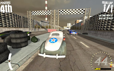 Headlong Racing Game Play