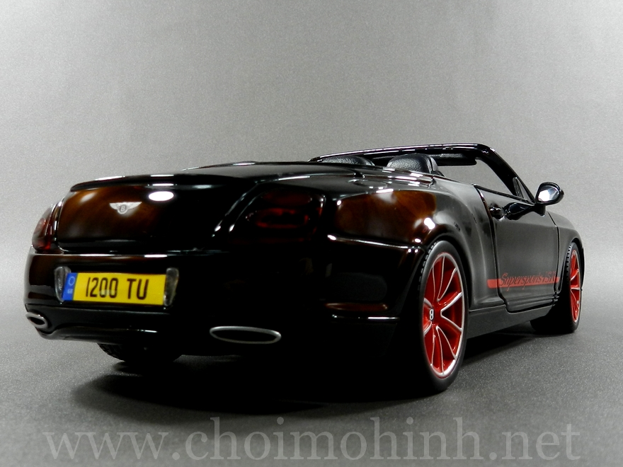 Bentley Continental Supersports Convertible ISR 1:18 bBurago back