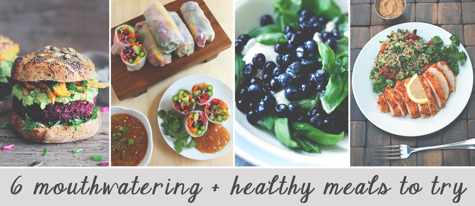 healthy meals to try, eating healthy, healthy food ideas