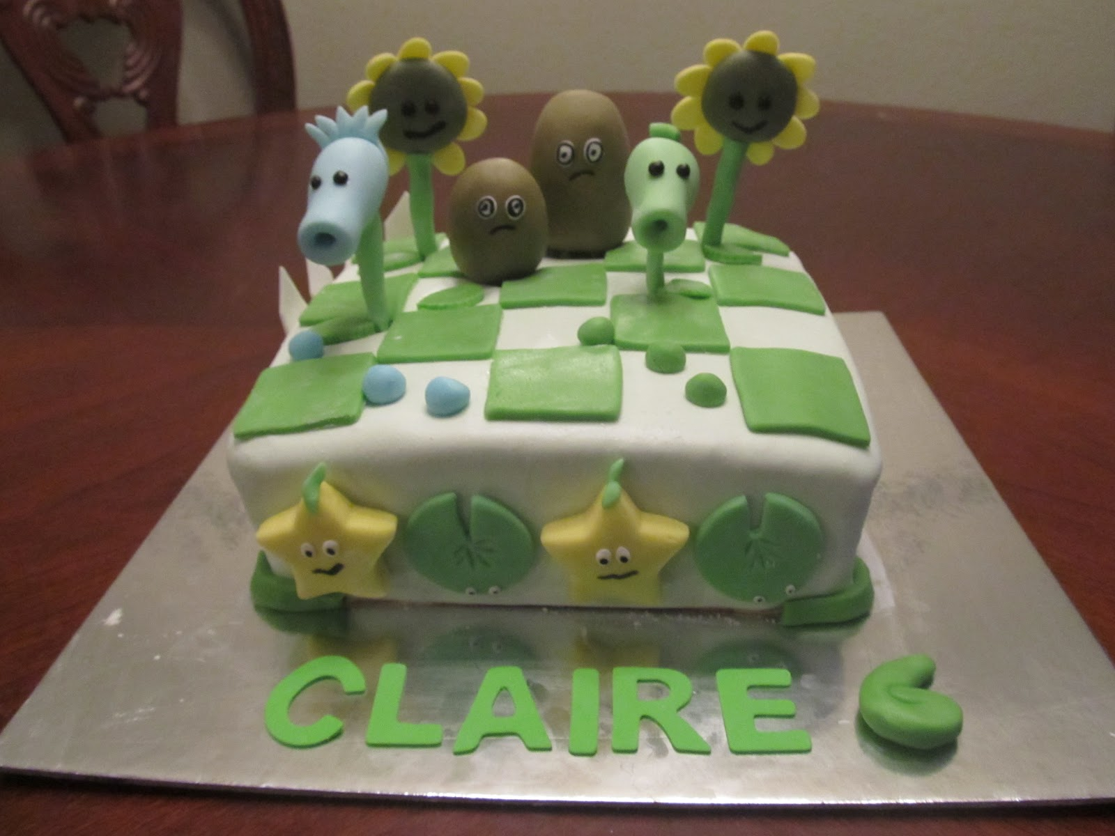 Plants Vs Zombies Cake Pops