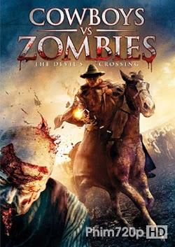 Cowboys vs Zombies 2014 poster