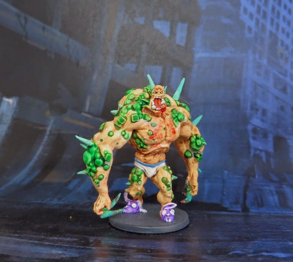 Zombicide, Zombie, Abomination, painted,