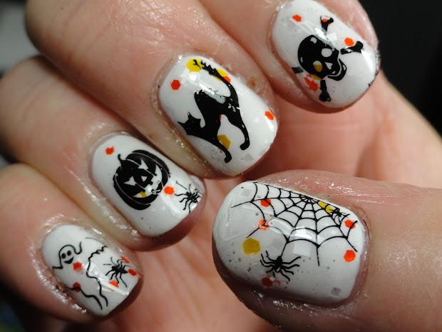 canadian nail fanatic halloween
