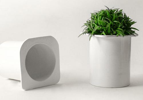 ma poubelle est un jardin pots de yaourts que faites vous en apr s. Black Bedroom Furniture Sets. Home Design Ideas
