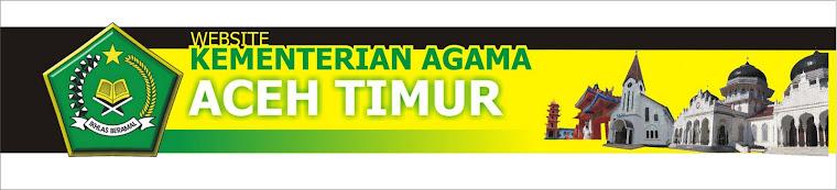 Kantor Kemenag Aceh Timur