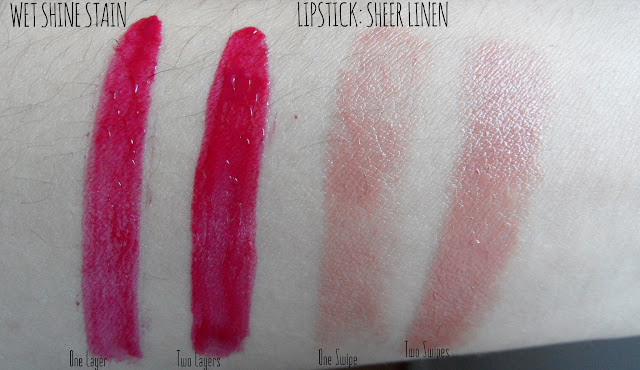 color caresse infinite fuchsia sheer linen swatch