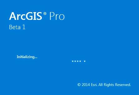 بيئة عمل برنامج ارك جي اي اس ArcGIS Pro 10.3
