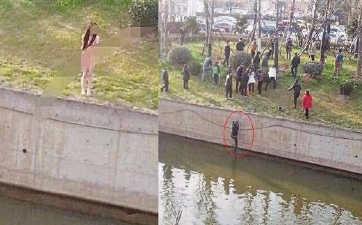 Nasib Malang Lelaki Selamat Gadis Bogel Terjun Sungai