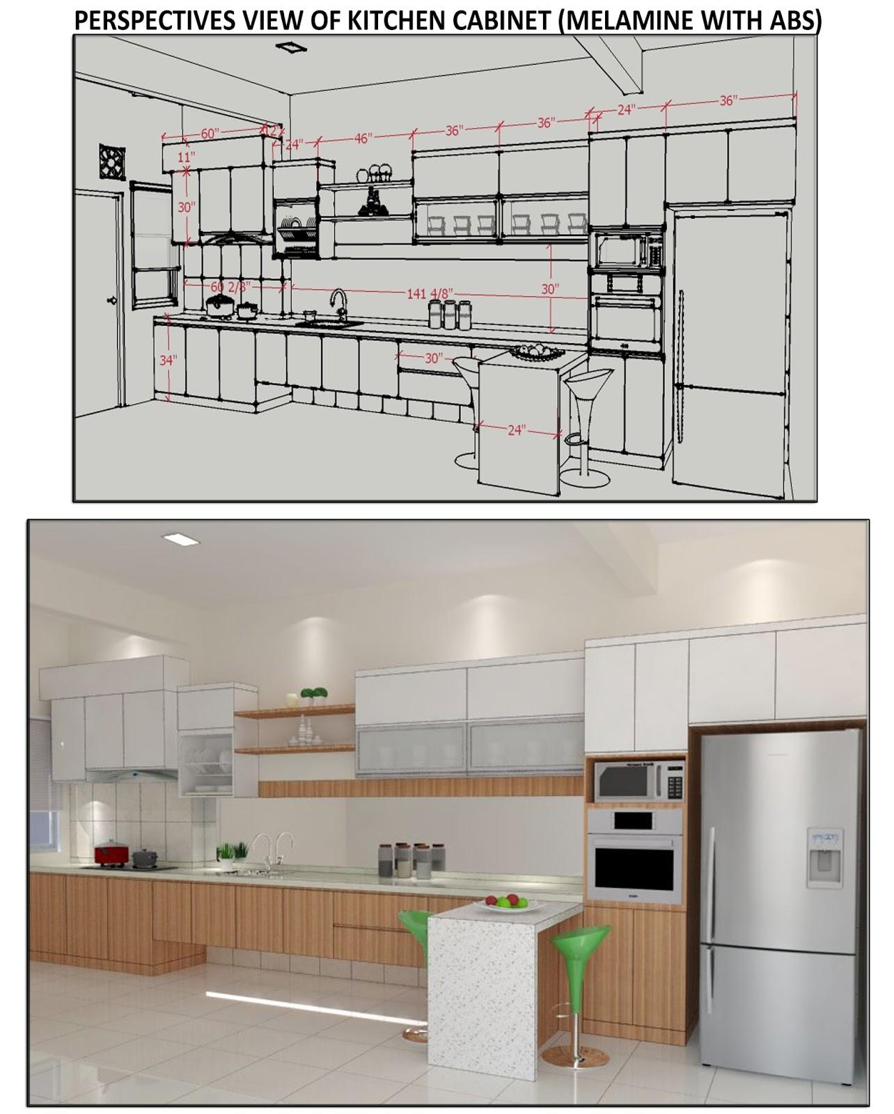 kronologi kehidupanku renovate rumah drawing kitchen
