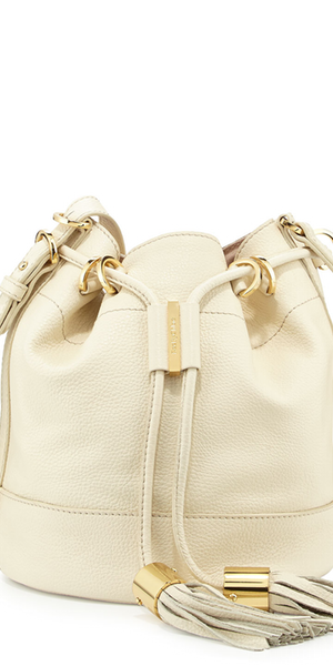 See by Chloe Vicki Vachetta Bucket Bag, Milk