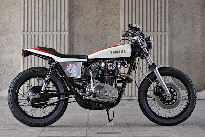Yamaha XS 650 Flat Tracker by Red Max Speed Shop   vehicle car car