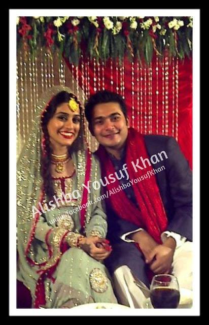 Alishba Yousuf Wedding