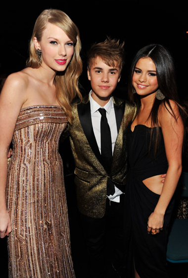 selena gomez and justin bieber 2011 billboard. hair Justin Bieber at the 2011