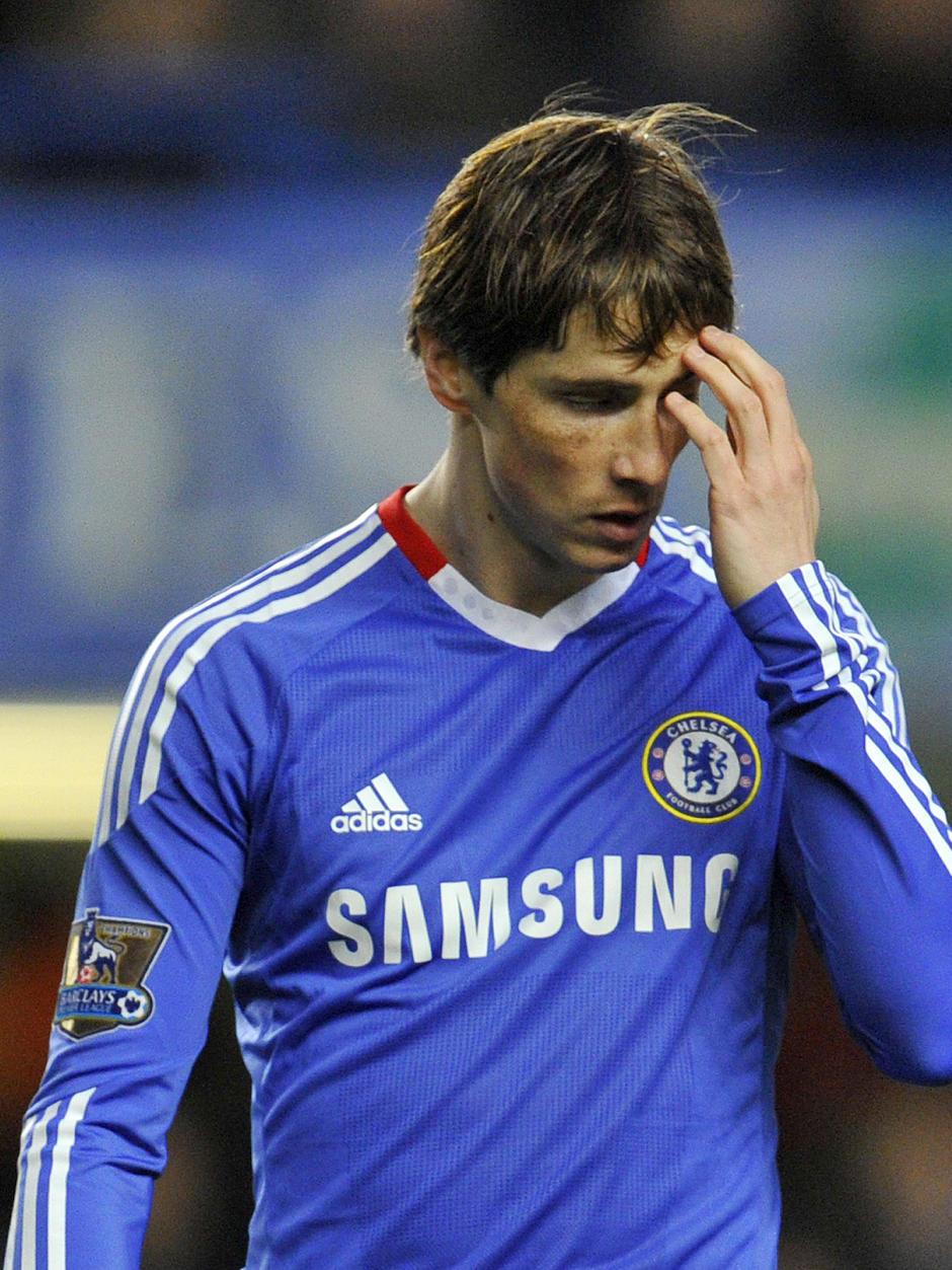 Fernando Torres lamenta su paso por el Chelsea