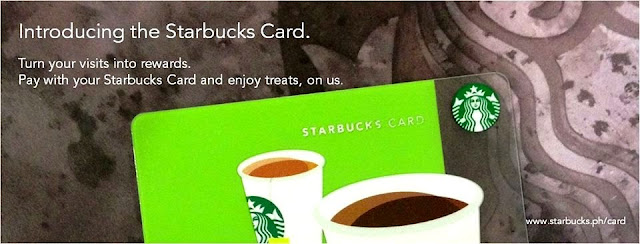 Starbucks Card: NOW in the Philippines | August 2013