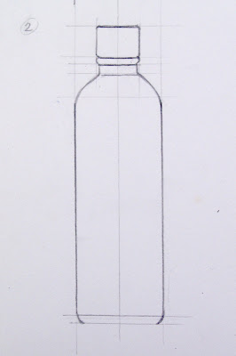 How To Draw Plastic Bottle In 3 Steps Thehandrawn Rom Salvar