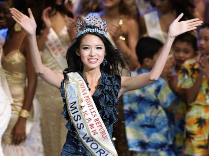 MISS WORLD HISTORY - Page 4 Zhang%2BZilin%2BMiss%2BWorld%2B2007