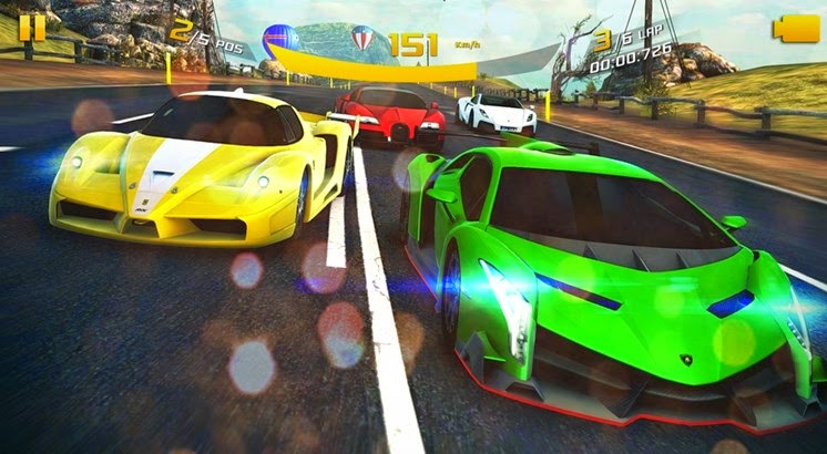 Asphalt 8: Airborne the first mobile game