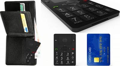 Micro-Phone Smartphone Setipis Kartu Kredit