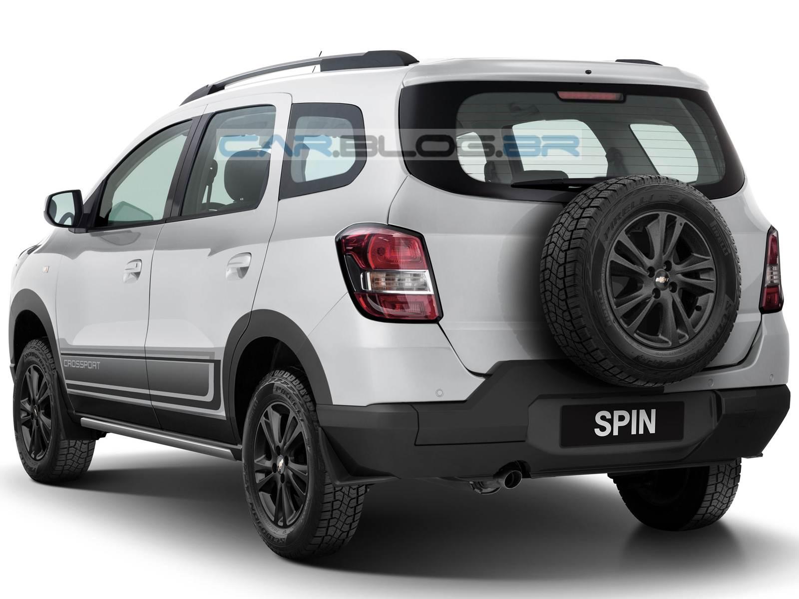 Chevrolet Spin SR