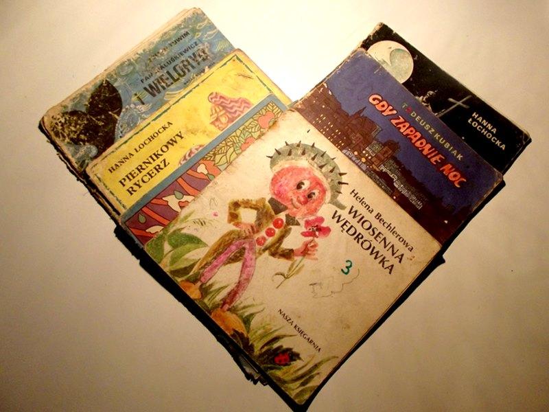 przygody z książką, stare książki