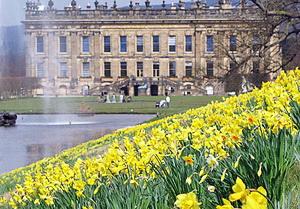 Chatsworth house England inggris