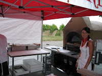 AVella's Wood Fired Oven Pizza at Flat Rock Cellars