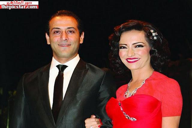 صور, امل عرفة, Amal Arafa, مع, زوجها السابق, عبد المنعم عميري, طليقها