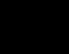 Wzór Hawortha dla glukozy narysowany za pomocą Chemtool