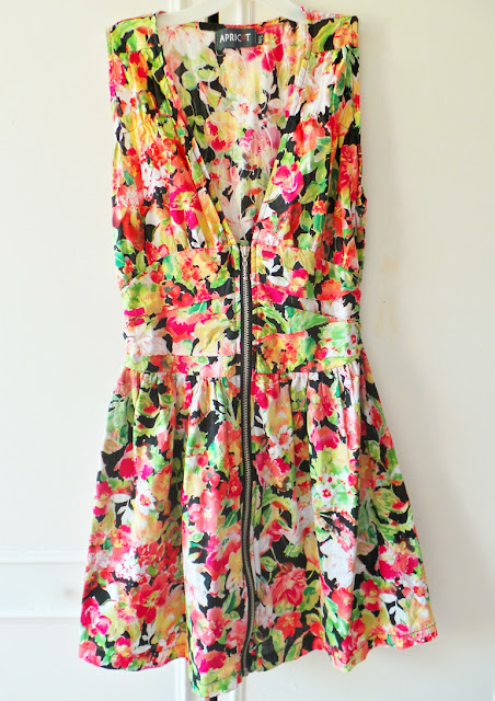 Haul - Thrifty Charity Shop Weekend Fashion Buys Floral Dress