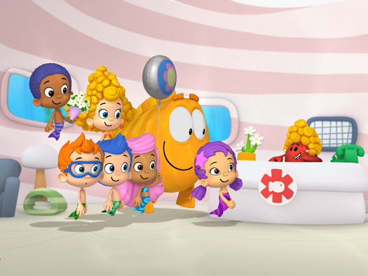 Bubble Guppies Nick Jr Cartoon