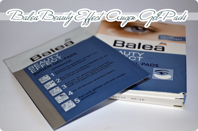 Mein Schminkkörbchen Balea Beauty Effect Augen Gel-Pads