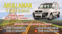 ABULLAMAN TURISMO VIAGENS E ENCOMENDASPARA SÃO PAULO E INTERIOR
