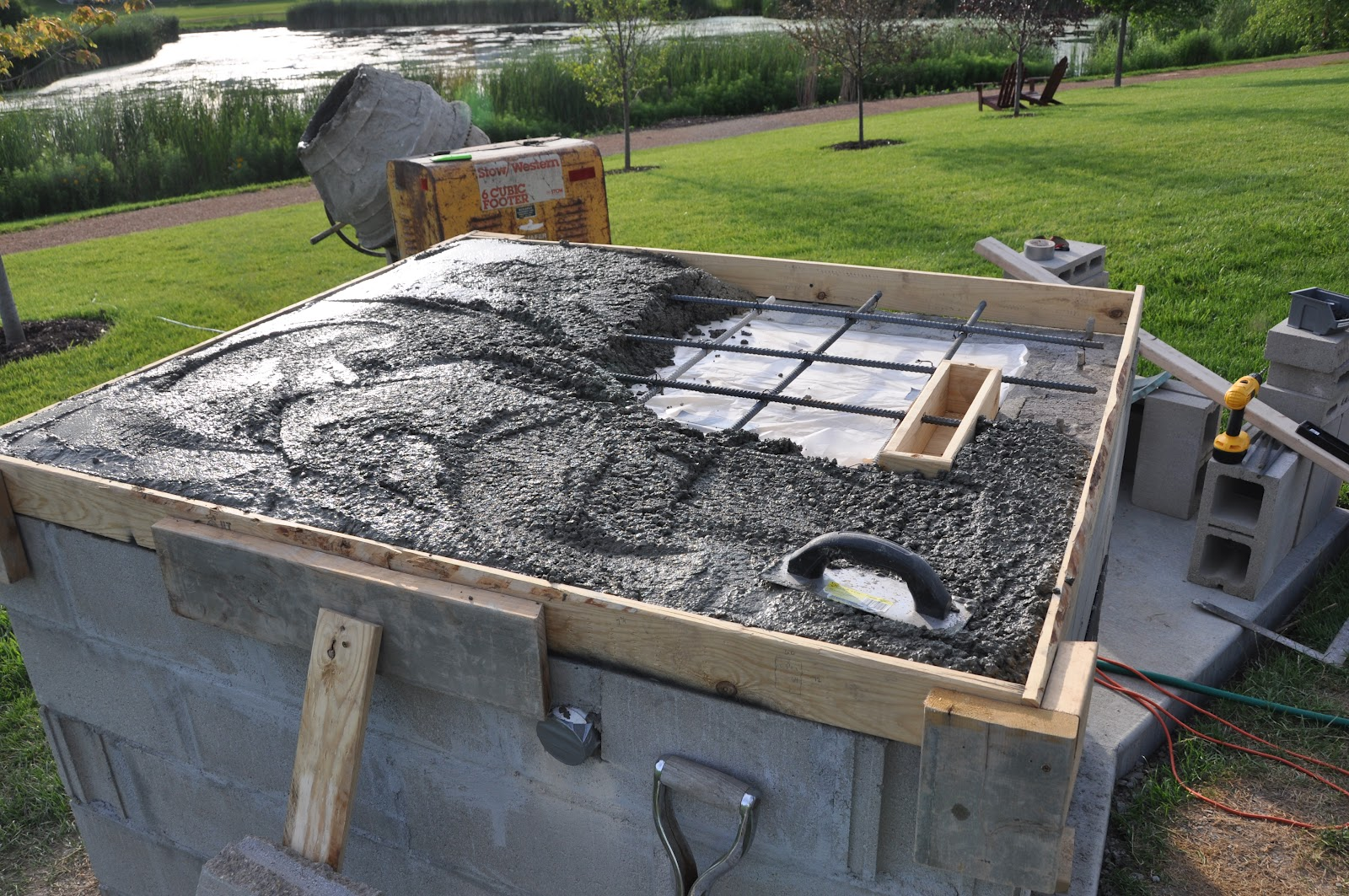 how to work out concrete mix for 25 ppm