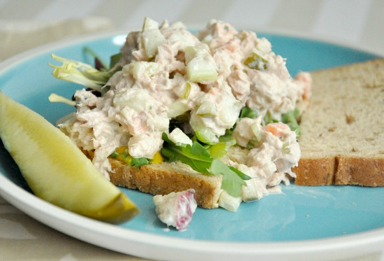 Healthy Veggie Tuna Salad