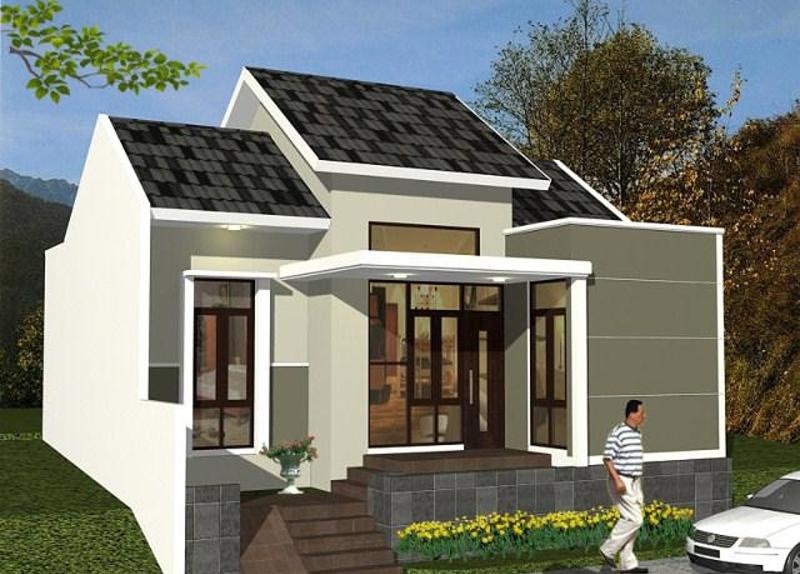 model rumah sederhana cantik dan minimalis desain gambar