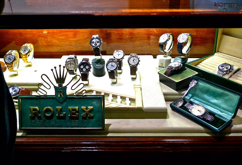 Rolex Dealer Display