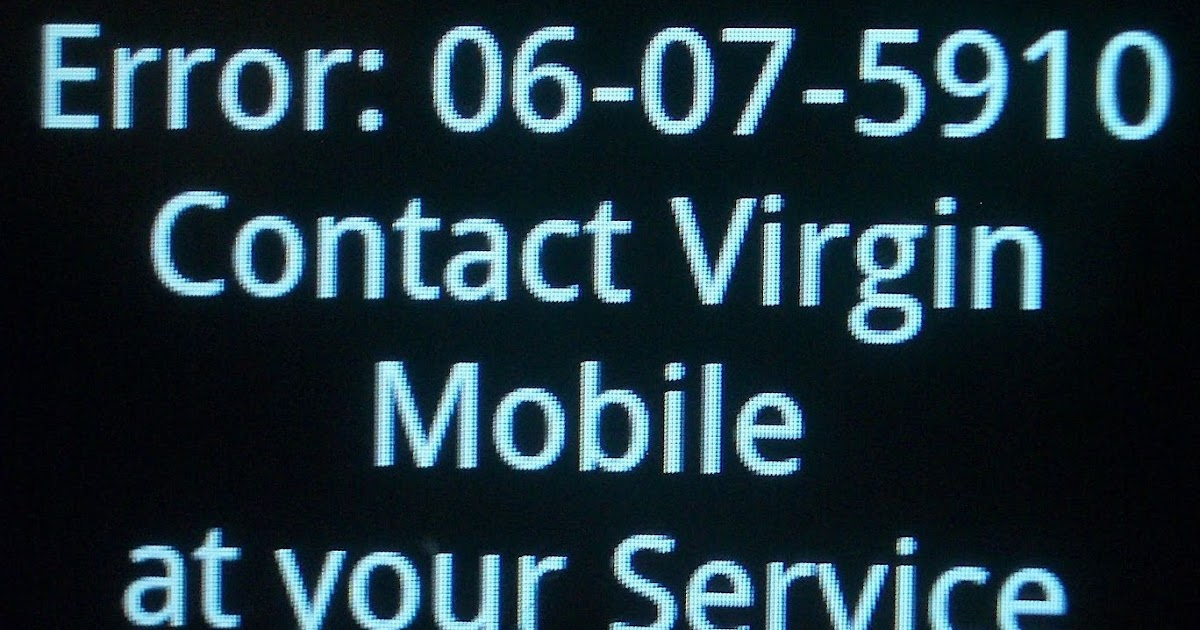 activation code for virgin mobile v3c